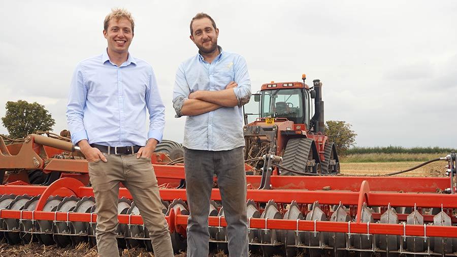 Lincolnshire Farmers Alex and James Richardson