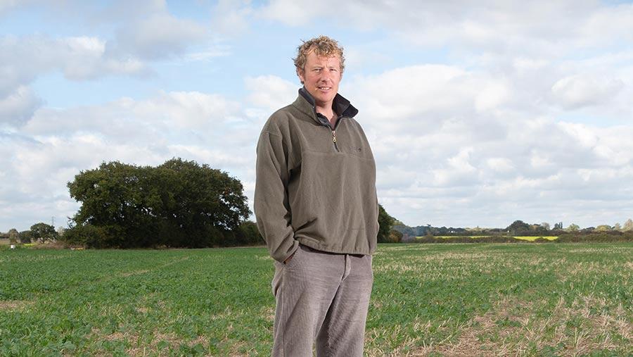David Lord in field