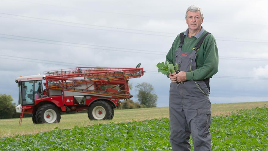 Philip Wood in field