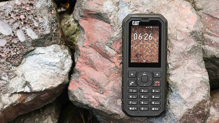 The Cat B35 mobile phone