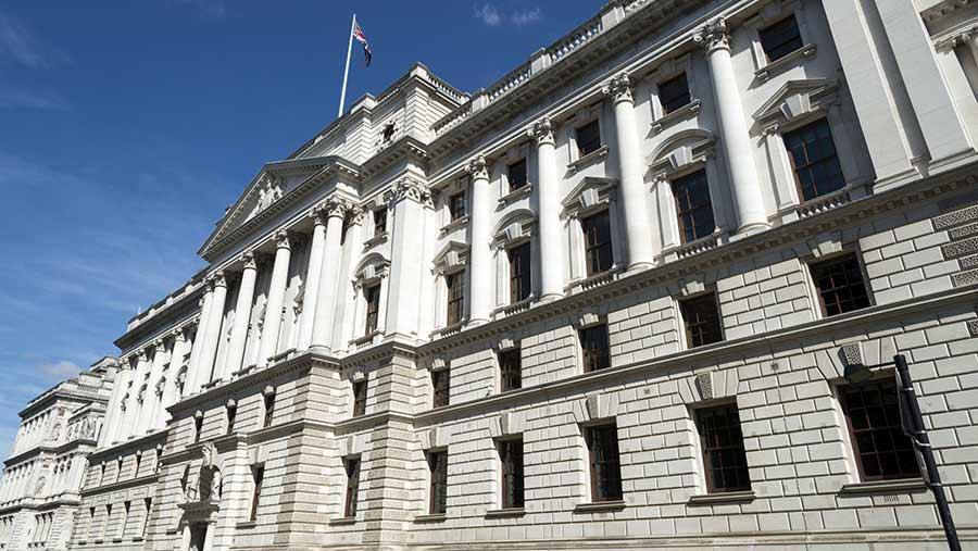 HM Treasury © Alex Segre/REX/Shutterstock