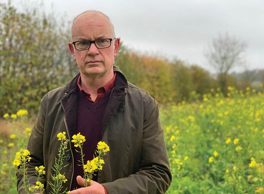 Suffolk farmer John Pawsey