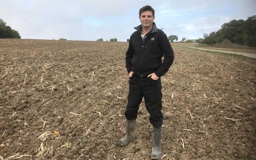 Sam Passmore of Manor Farm