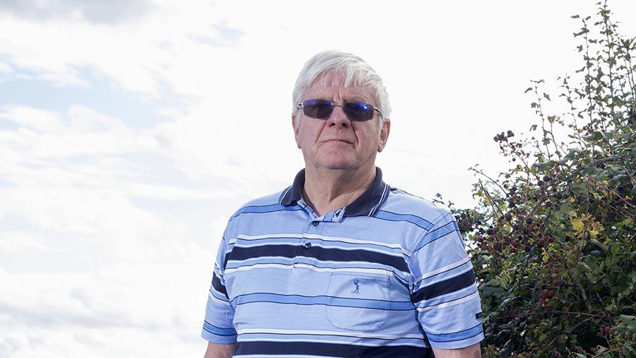 Farmer Monty Andrews