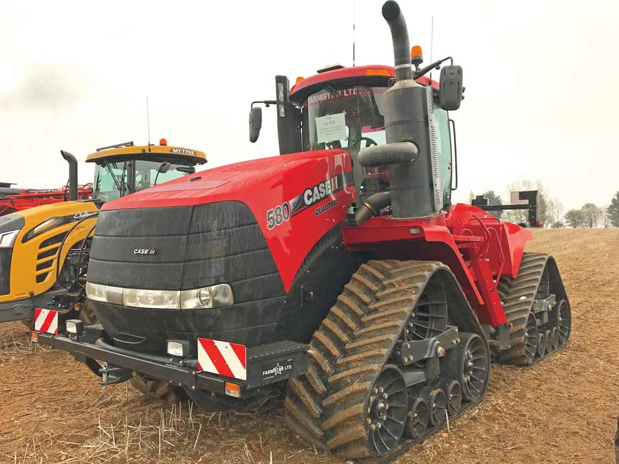 Case Quadtrac 580 tractor