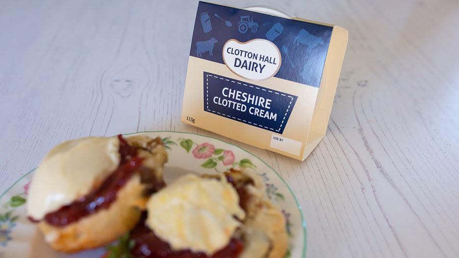 Clotton Hall Dairy clotted cream