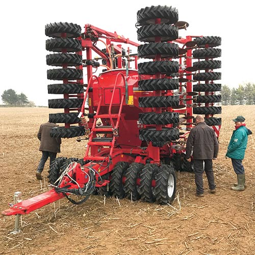 Horsch Sprinter 8-metre sprayer