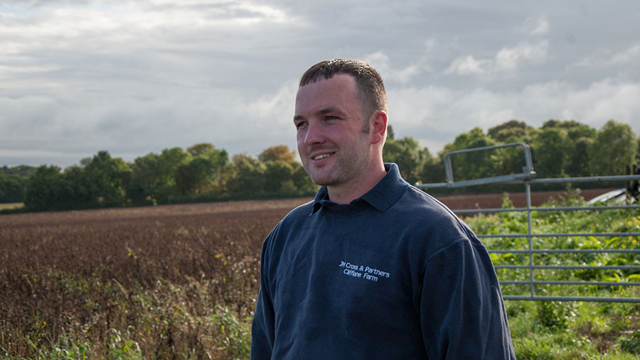 AHDB Monitor Farmer Robert Cross