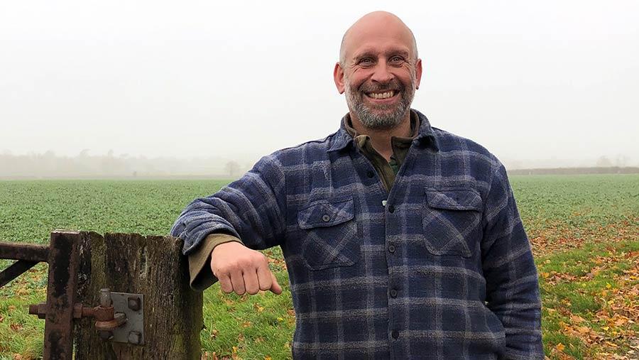 Farmer Rob Addicott © Oli Hill/RBI