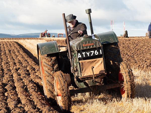 Curtis Welsh vintage tractor