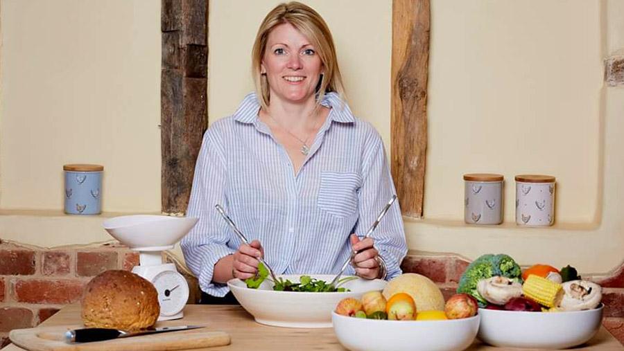 Dietician Anna Groom