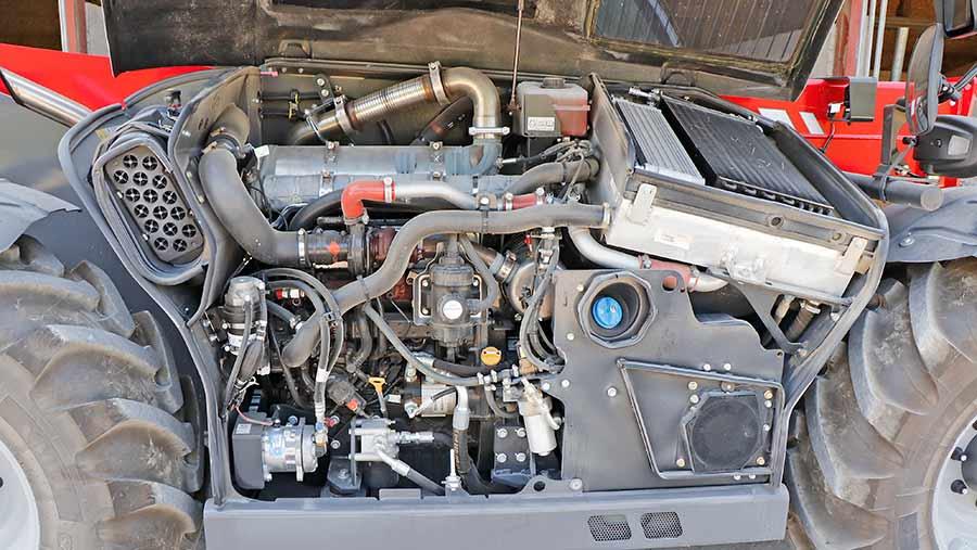 Massey Ferguson telehandler engine