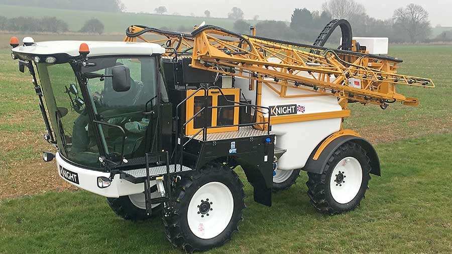 Knight 1800 series buyers can go low or high with the cab installation