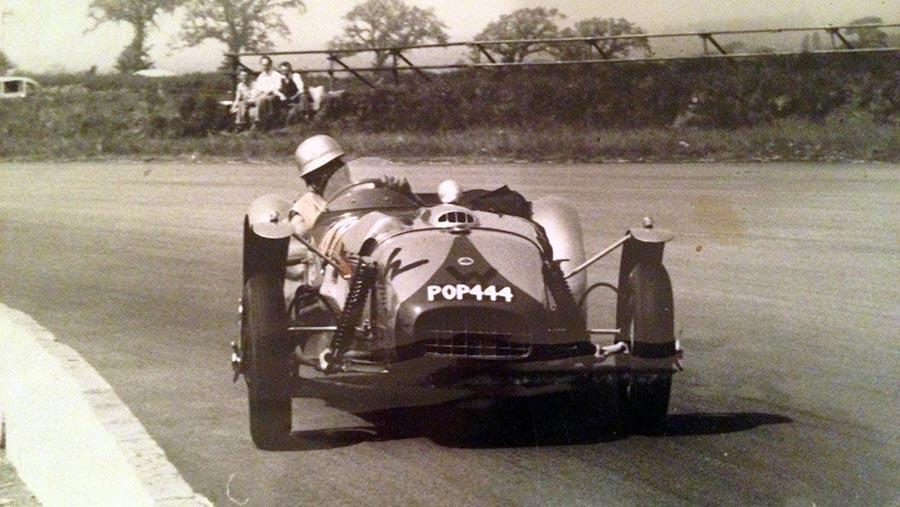"Roy Millbank racing in ""Pop"""