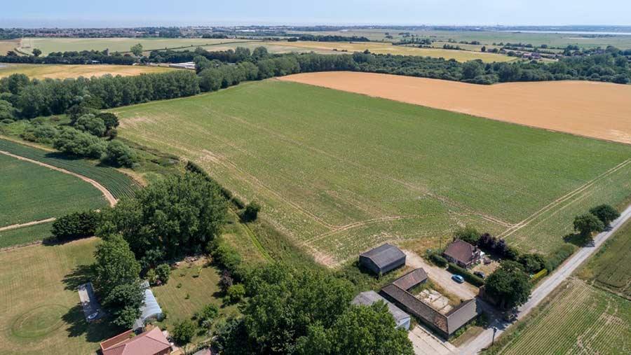 Upper Wood Farm, a Norfolk County Council tenancy