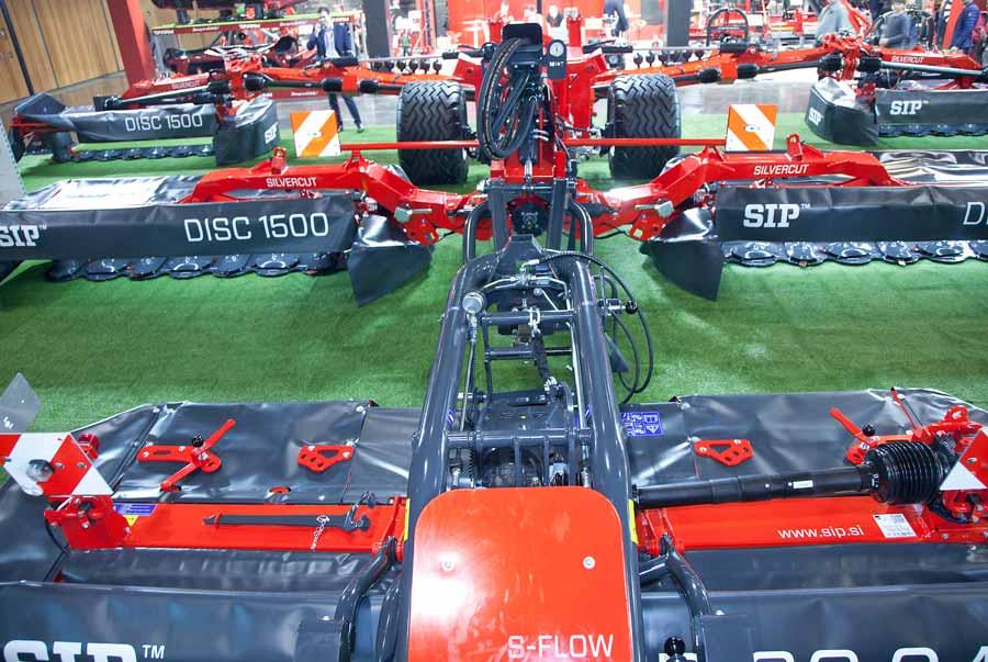 SIP Disc 1500 mower