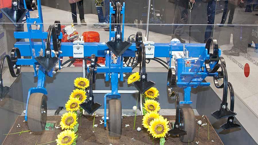 Hydrokit single-row cultivator control