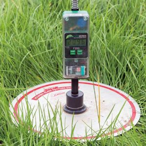 Measuring with a plate mete