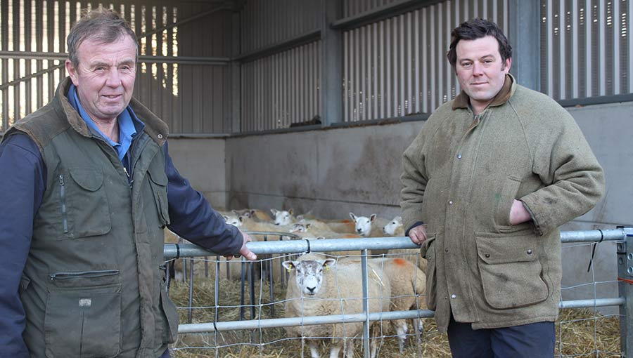 Charlie (left) and Tom Scott, Uppingham