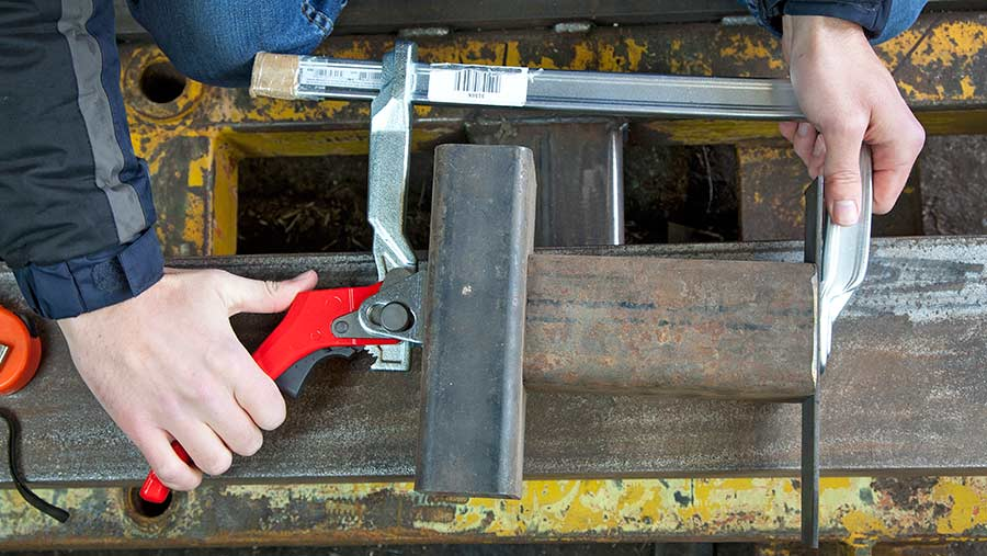Bessey GH30 all-steel lever clamp