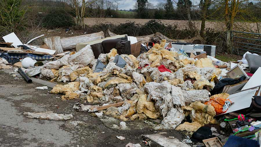 Trenches are seen as a way to thwart fly-tippers and hare coursers © Geoffrey Swaine/REX/Shutterstock
