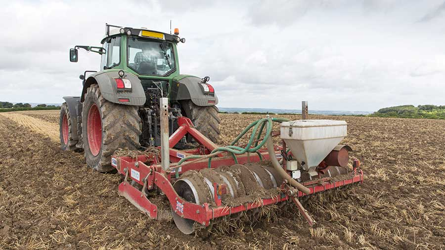 Cultivating barley