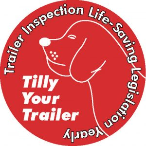 Tilly Your Trailer sticker
