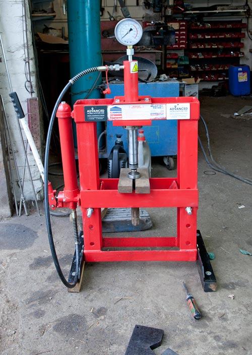 Sealey 10t hydraulic press