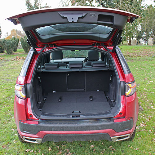 Land Rover DIscovery Sport boot