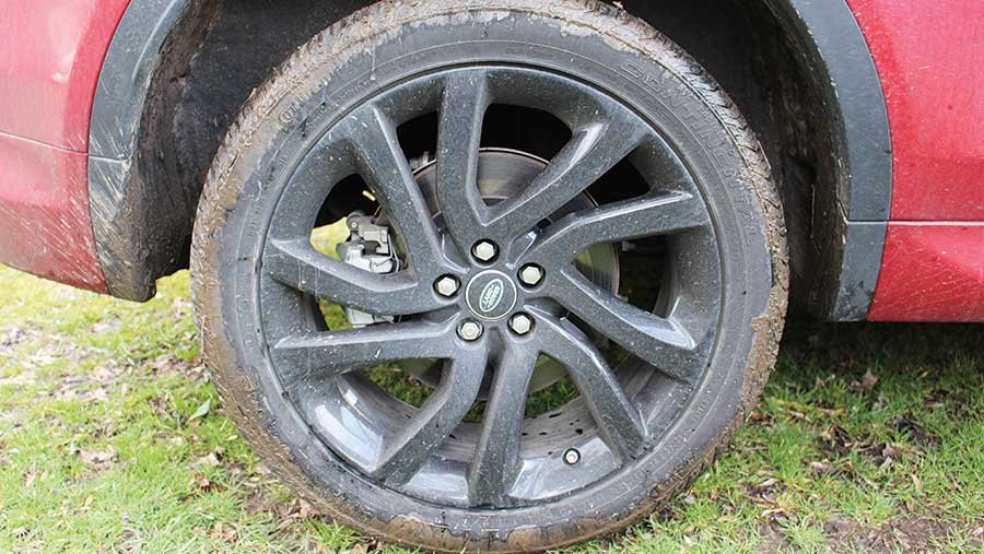 Land Rover Discovery Sport wheels