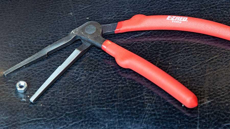EZ Red Kiwi offset plier set