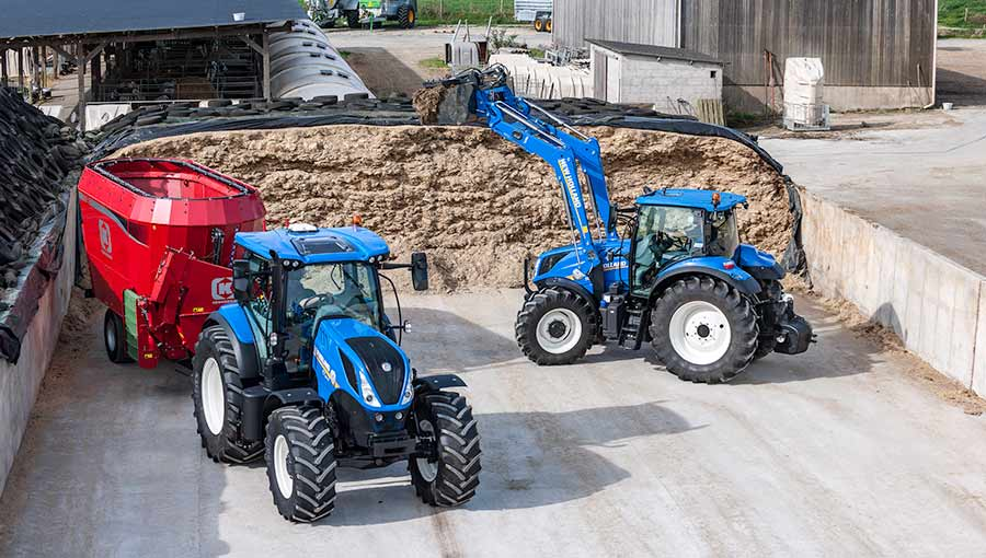 New Holland T7 165S Tier4B 17 031