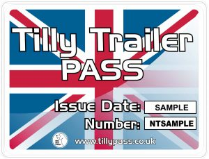 Tilly Pass sticker