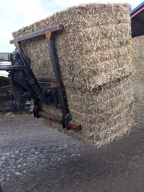 Byron Pym's folding bale spike