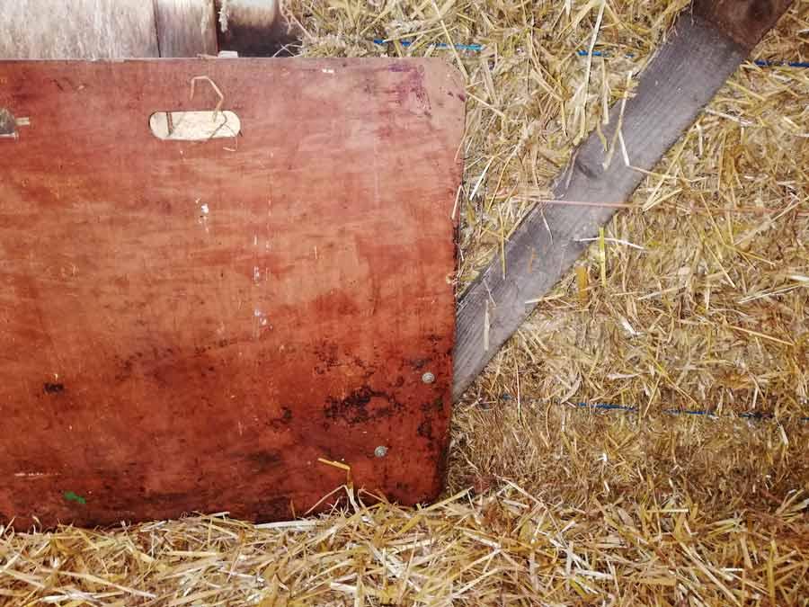 Neil Barker's electric pig trough lifter