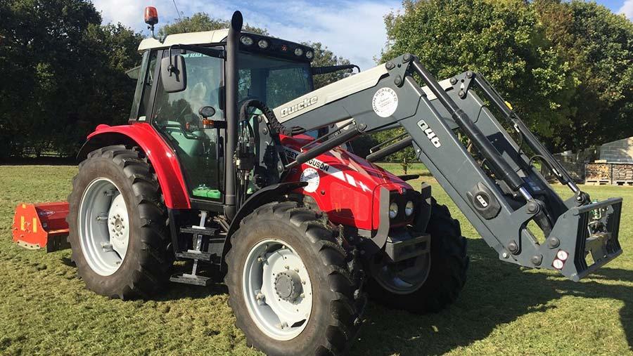 The Massey tractor Iain MacFarlane thought he was buying