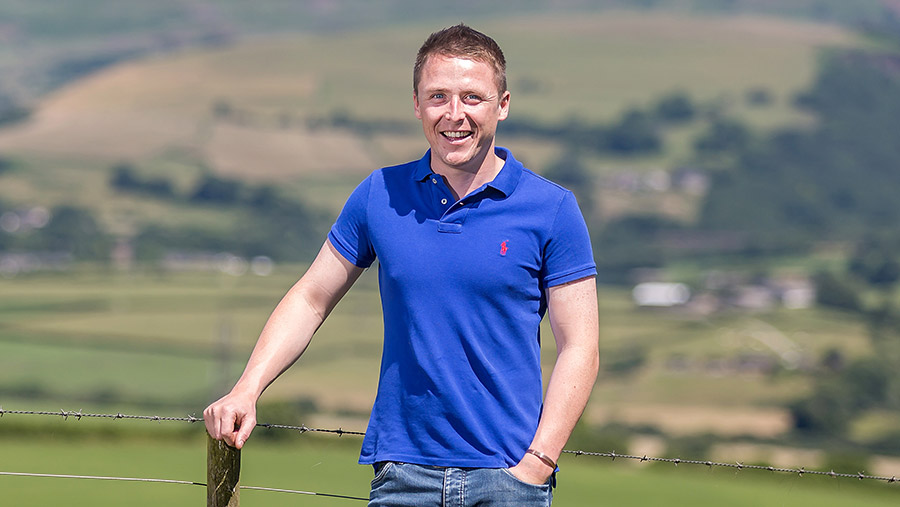 Young Farmer of the Year and FW columnist Jacob Anthony © Richard Stanton