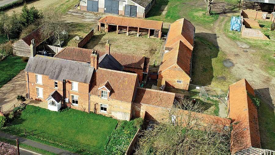 Trafford Farm buildings © Lincolnshire Agricultural Society