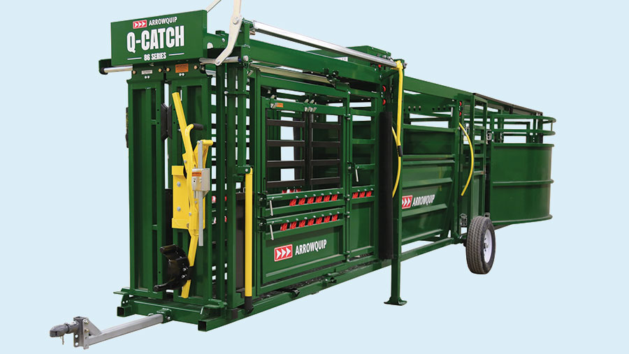 A cattle handling system