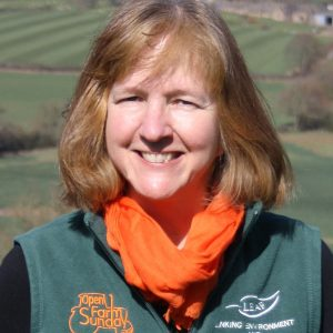 Annabel Shackleton is Leaf's Open Farm Sunday manager