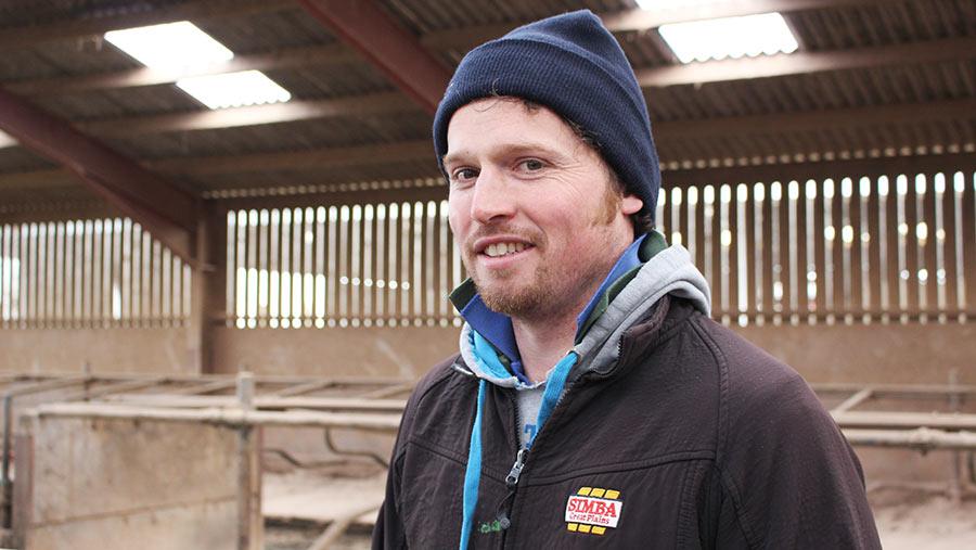 Farmer Sean Nicholson
