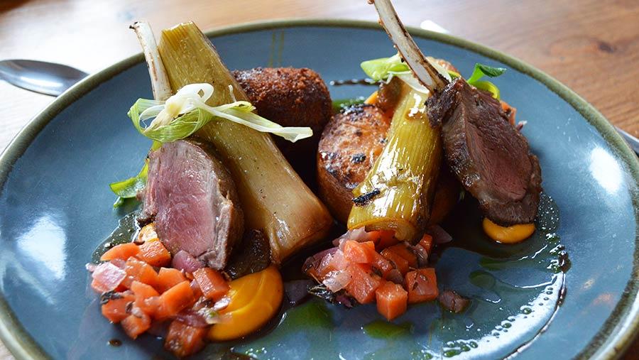 St David's Kitchen mutton dish © David Jones/RBI