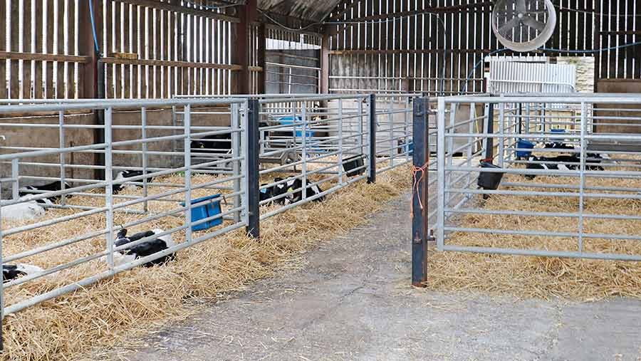 Calf approved finishing unit