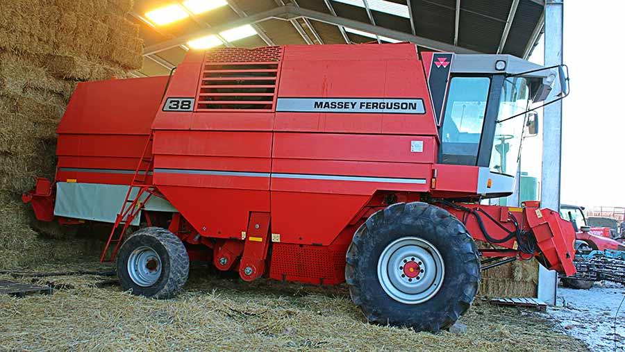 1998 Massey Ferguson 38 combine