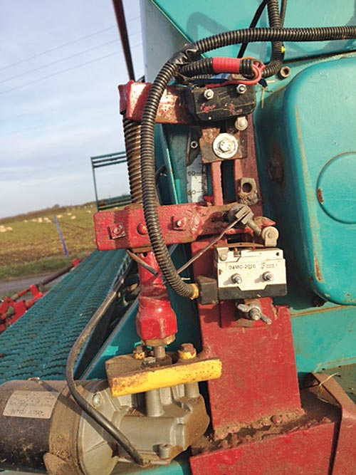 Peter Richardson's variable-rate seed drill