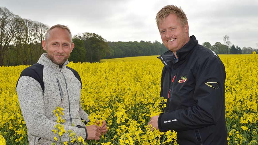 Bo Jensen (left) and Soren Lykkegaard Hansen