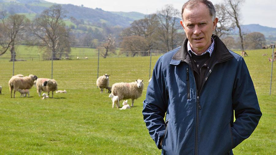 Rhug Estate's Gareth Jones © David Jones/RBI