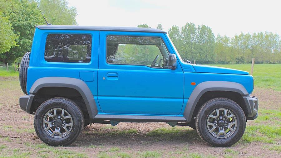 Suzuki Jimny side view