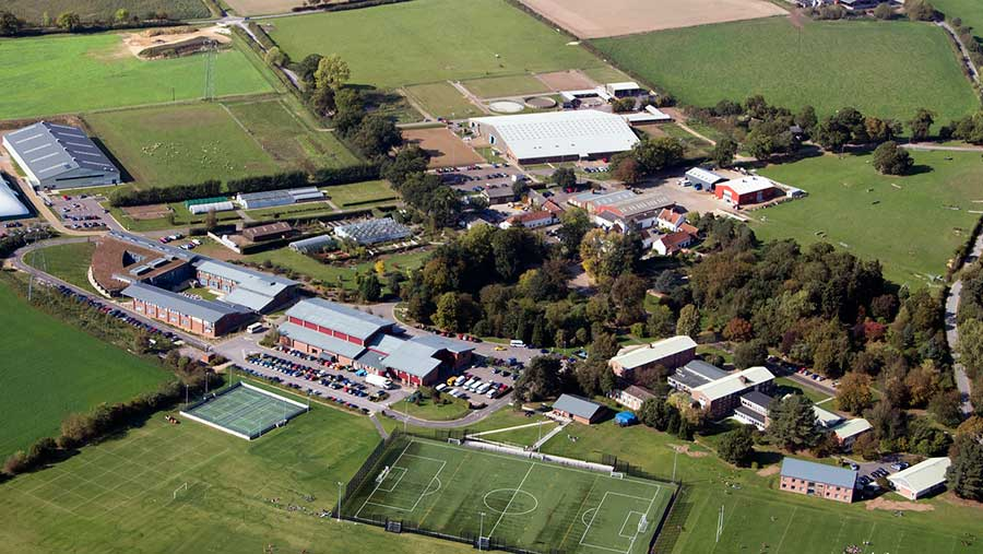 Easton campus © Easton and Otley College