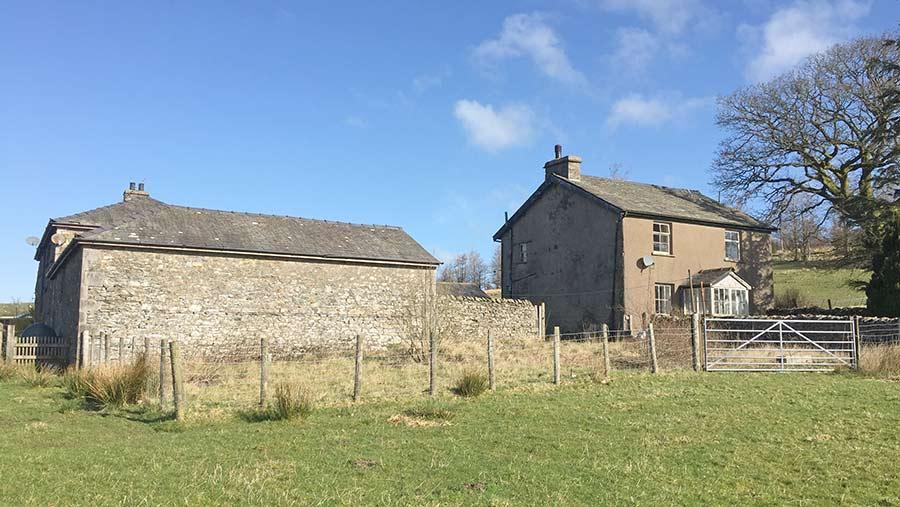 Farmhouse and sheds